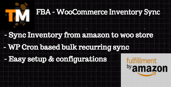 WooCommerce FBA Inventory Sync - CodeCanyon Item for Sale