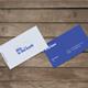 Business Card Mock-up : 4 Different Birdseye views