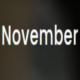 November- Personal Portfolio Template