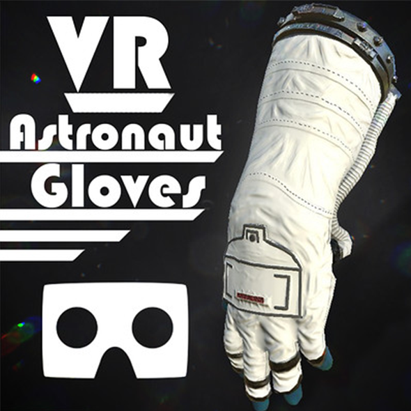 Astronaut VR Hands I Animated I Optimized I - 3DOcean Item for Sale