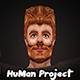 HuMan 3D Project I Animated I Male