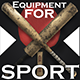 Sport Equipment I 19 Optimized models I - 3DOcean Item for Sale