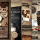 Coffee Shop Promotion Flyer Template Bundle - GraphicRiver Item for Sale
