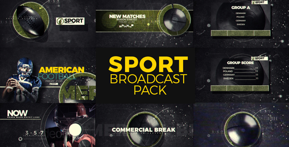 Sport Boadcast Pack