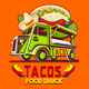 Food Truck Taco Mexican Fast Delivery Service Vector Logo - GraphicRiver Item for Sale