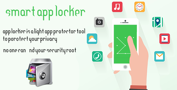 CodeCanyon Smart App locker Protect data 20415860