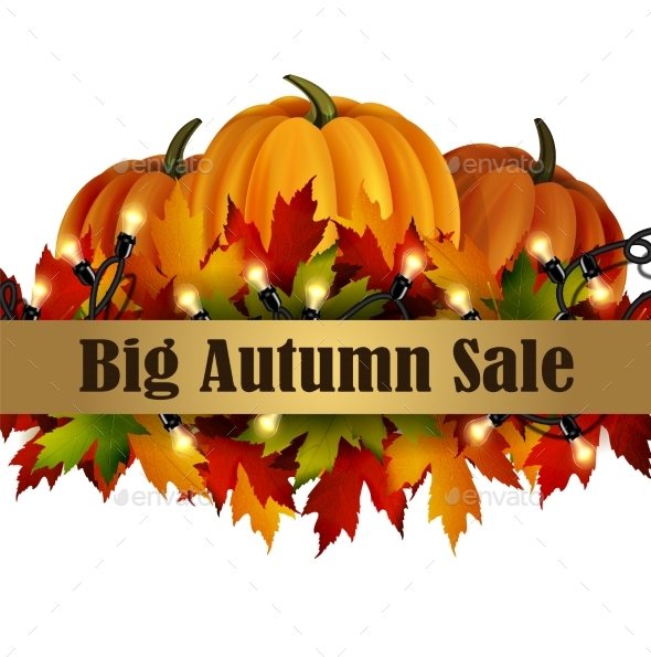 Autumn Special Sale Poster Isolated - Landscapes Nature