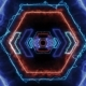 Energy Light VJ Tunnel. 3d Render - VideoHive Item for Sale