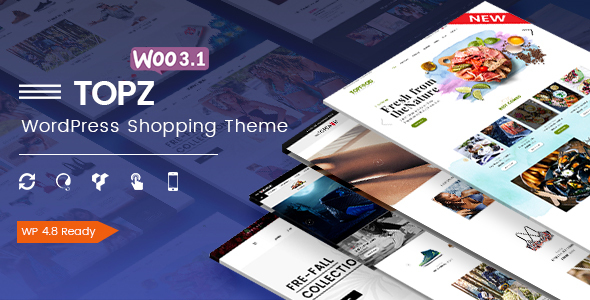 TopZ - Responsive Multipurpose WooCommerce WordPress Theme