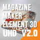 Magazine Maker Element 3D