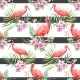 Watercolor Tropical Vector Pattern - GraphicRiver Item for Sale