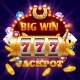 Big Win 777 Lottery Vector Casino Concept