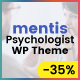 Psychologist- WordPress Theme Mentis for Therapists, Psychiatrists & Life coaches - ThemeForest Item for Sale