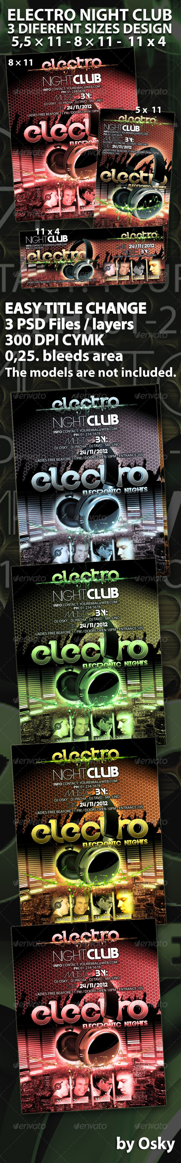 Electro Night Club - Clubs & Parties Events