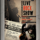 Rock Show Flyer / Poster - GraphicRiver Item for Sale