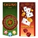 Realistic Casino Games Vertical Banners