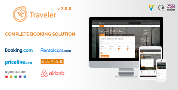 Traveler - Travel/Tour/Booking WordPress Theme - Travel Retail