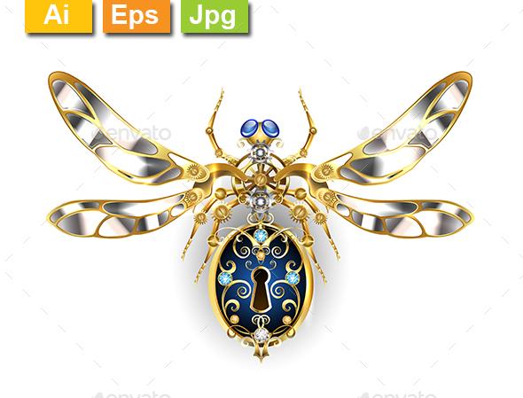 Mechanical Insect - Decorative Symbols Decorative