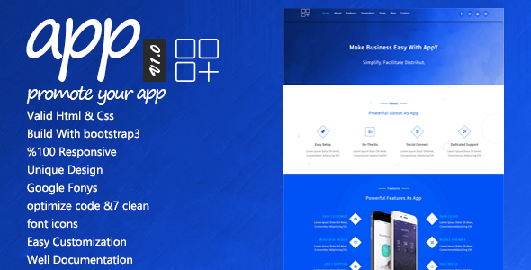 app | Appy Landing Page