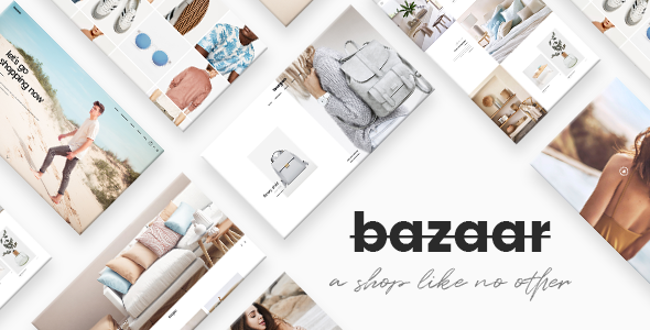Bazaar - A Modern, Sharp eCommerce Theme