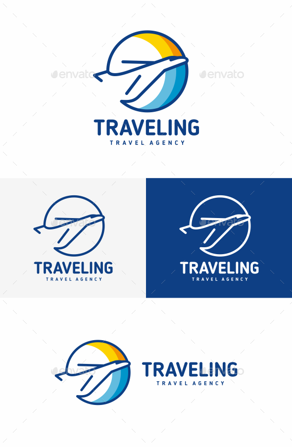 Plane - Objects Logo Templates