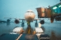 A busy airport in the rain - PhotoDune Item for Sale