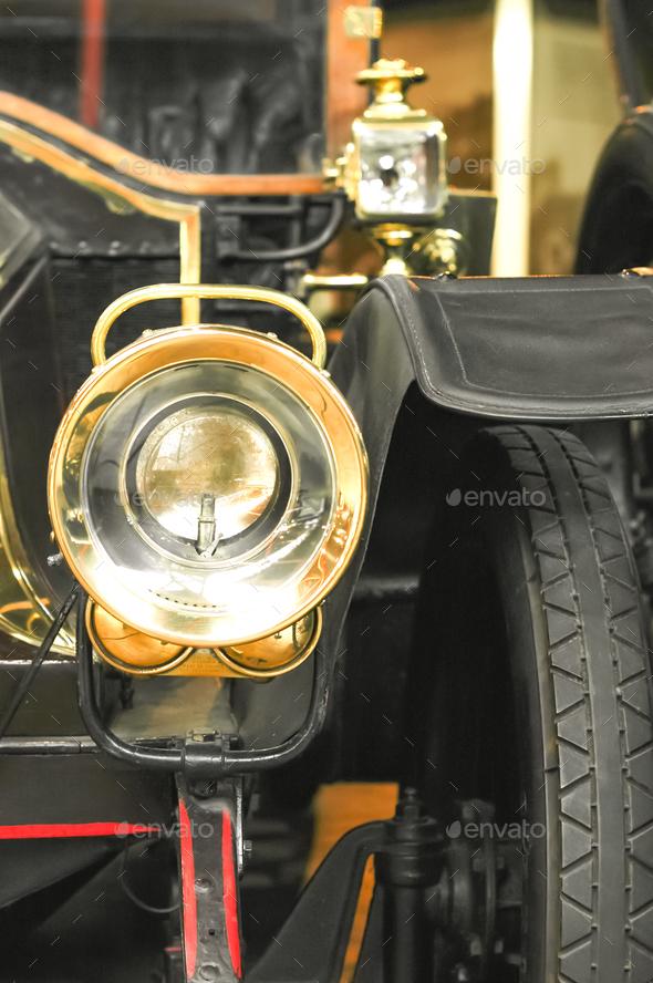 car headlamp - Stock Photo - Images