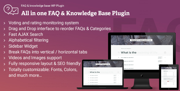 CodeCanyon FAQ & Knowledgebase WordPress Plugin 20417368