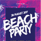 Brush Party Flyer - GraphicRiver Item for Sale