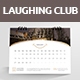 Laughing Club Desk Calender 2018