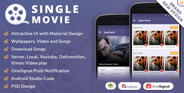 Single Movie App - CodeCanyon Item for Sale