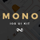 Mono iOS E-commerce UI Kit - ThemeForest Item for Sale