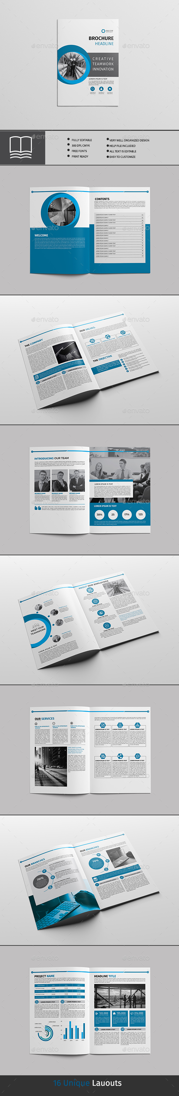GraphicRiver Brochure 16 page 20417927