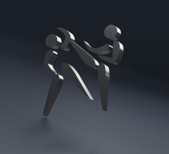 Martial Arts Print 3D - 3DOcean Item for Sale