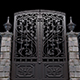 Gate With Bars - VideoHive Item for Sale