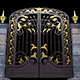 Gate With Ornamental Stud - VideoHive Item for Sale