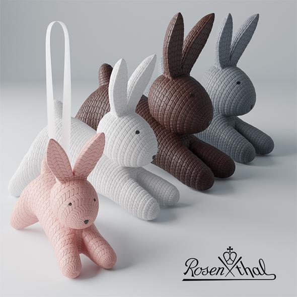 Rabbit rosenthal toy - 3DOcean Item for Sale