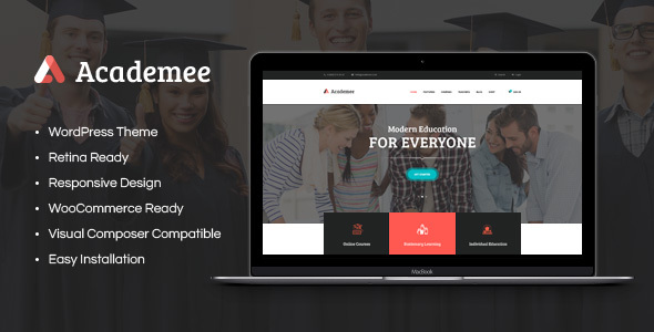 Academee | Education Center & Training Courses - Education WordPress