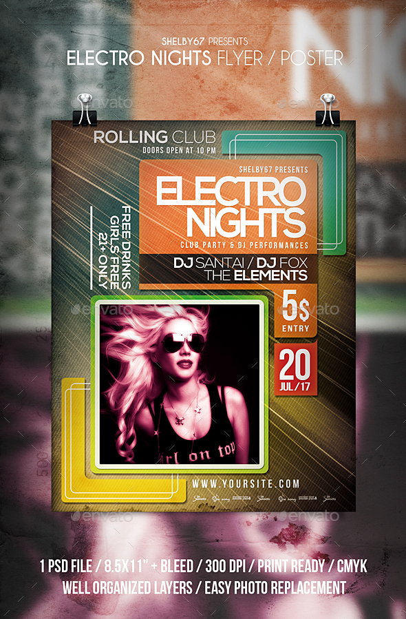Electro Nights - Clubs & Parties Events
