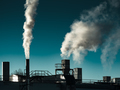 Air Pollution from the smokestack of a factory - PhotoDune Item for Sale