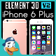 Apple iPhone 6 Plus for Element 3D