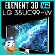 LG 38UC99-W for Element 3D