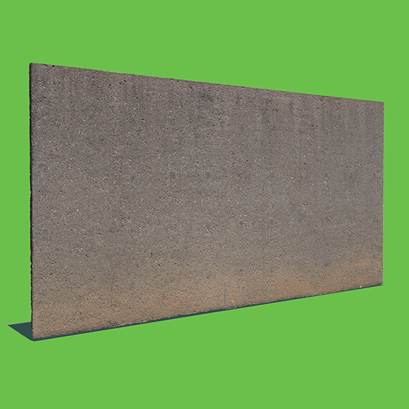 Another Concrete Wall - 3DOcean Item for Sale