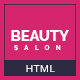 Beauty Salon Onepage