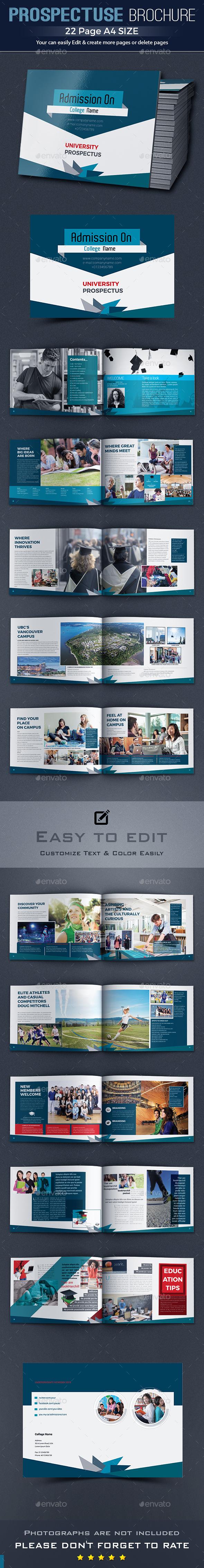 GraphicRiver Education Prospectus Brochure 20387100