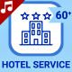 Hotel Service Icons - VideoHive Item for Sale