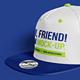 Hip-Hop Baseball Cap Mockups - GraphicRiver Item for Sale