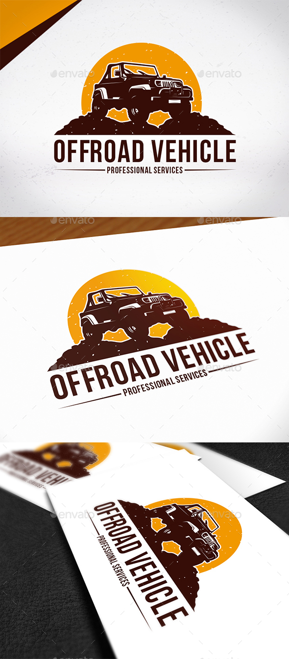 GraphicRiver Offroad Vehicle Logo Template 20419907
