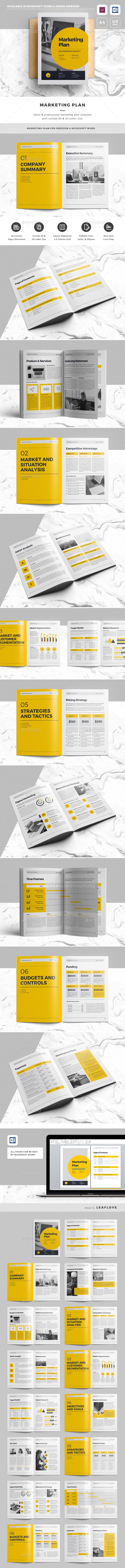 GraphicRiver Marketing Plan 20419910