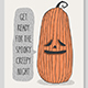 Halloween Hand Drawn Invitation